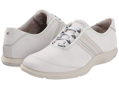 Adidasi Rockport - World Tour Ghilley Lace Up - Warm Grey Leather
