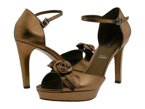 Pantofi Rockport - JS Flower Anklestrap - Bronze