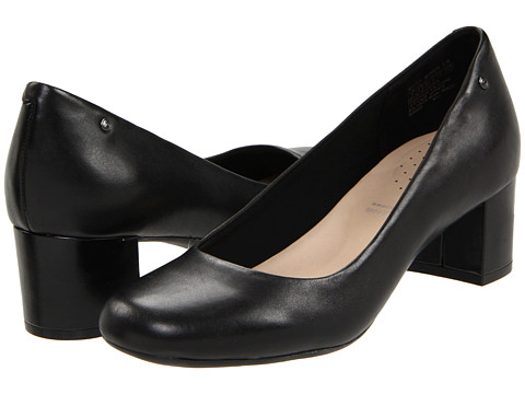 Pantofi Rockport - Mary Pump - Black Smooth Leather