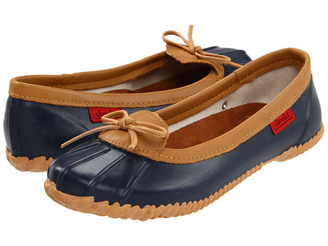 Balerini Chooka - Solid Duck Skimmer - Navy