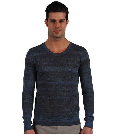 Pulovere Theory - Dryden Sweater - Atlantic Lead
