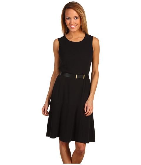 Rochii Calvin Klein - Fit and Flare Dress - Black