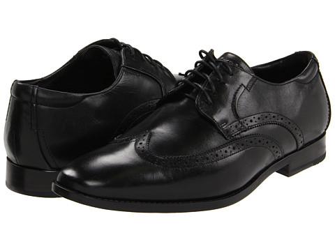 Pantofi Rockport - Oak Room Stitched Wingtip - Black