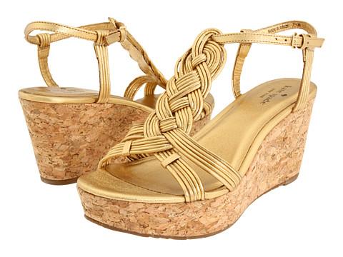 Sandale Kate Spade New York - Becca - Old Gold Metallic Nappa