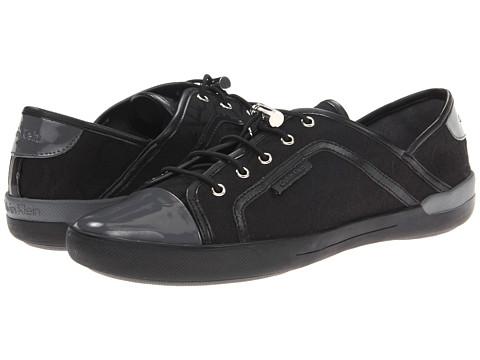 Adidasi Calvin Klein - Nia - Black/Grey Jacquard/Patent