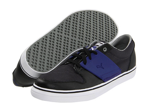 Adidasi PUMA - El Ace 2 Mesh - Black/Limestone Grey