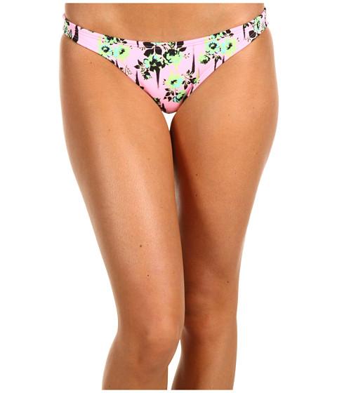 Costume de baie Volcom - Break It Up Basic Full Bottom - Pink Flower Print