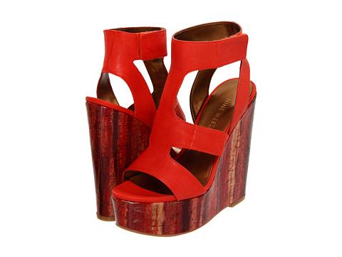 Sandale Nine West - BeAlright - Dark Orange Leather