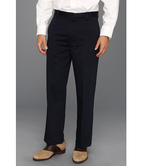 Pantaloni Dockers - Never-Iron⢠Essential Khaki D3 Classic Fit Flat Front Pant - Navy
