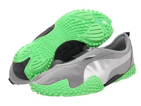 Adidasi PUMA - Mostro Femme Mesh Wn\s - Limestone Grey/Puma Silver