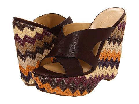 Sandale Nine West - MakeNice - Dark Brown Leather