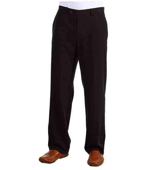 Pantaloni Tommy Bahama - Flying Fishbone Flat Front Pant - Black