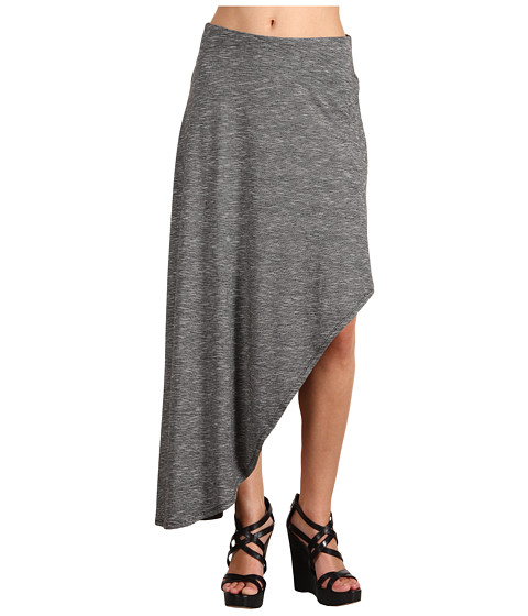 Pantaloni BCBGeneration - Asymmetrical Cascade Skirt - Black/White