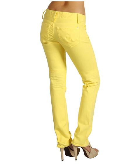 Blugi Lilly Pulitzer - Worth Straight Jean - Starfruit Yellow