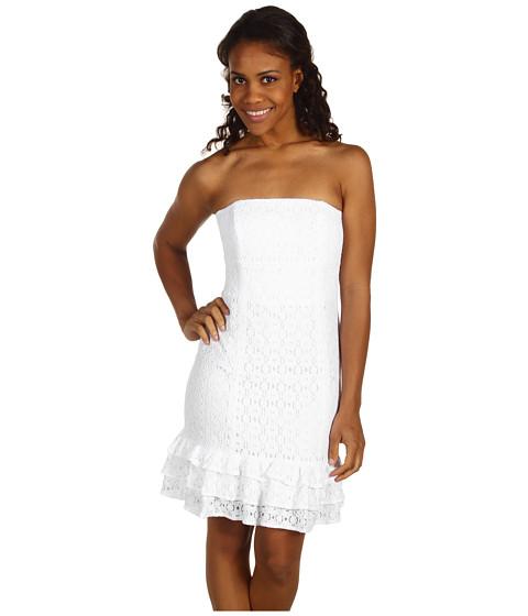 Rochii Lilly Pulitzer - Franco Dress - Resort White Petal Pusher Lace