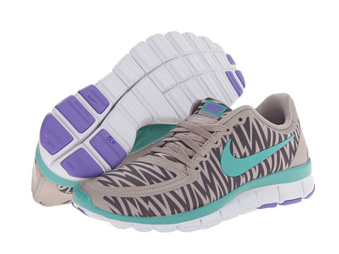 Adidasi Nike - Free 5.0 V4 - Medium Orewood Brown/Iron Ore/Atomic Violet/Diffused Jade