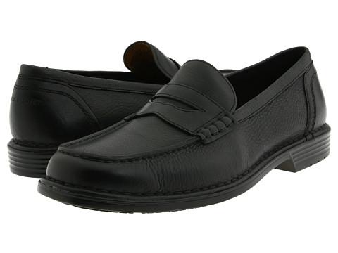 Pantofi Rockport - Washington Square Penny - Black