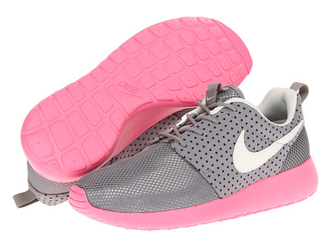 Adidasi Nike - Roshe Run - Medium Grey/Polarized Pink/Black/Sail