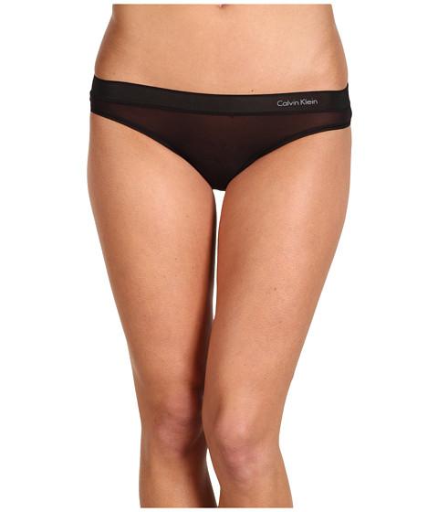 Lenjerie Calvin Klein - Second Skin Bikini - Black