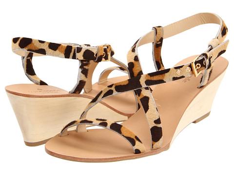 Sandale Kate Spade New York - Gena - Large Leopard Haircalf Print
