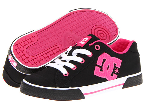 Adidasi DC - Chelsea TX W - Black/Black/Crazy Pink