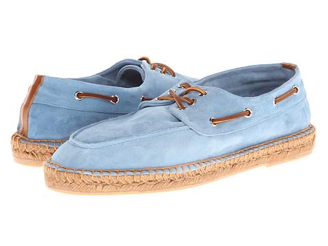 Pantofi Ralph Lauren Collection - Bonner - Chambray/Honey