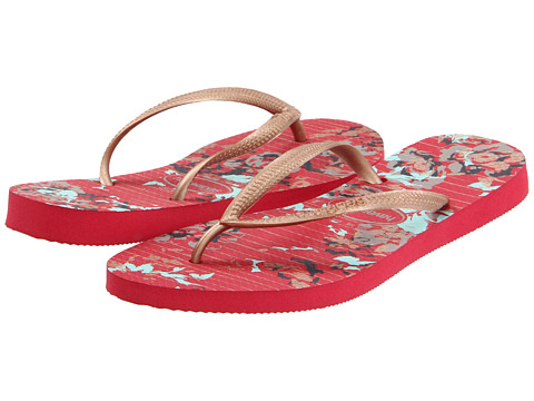 Special Vara Havaianas - Slim Fashion Flip Flops - Chili Red