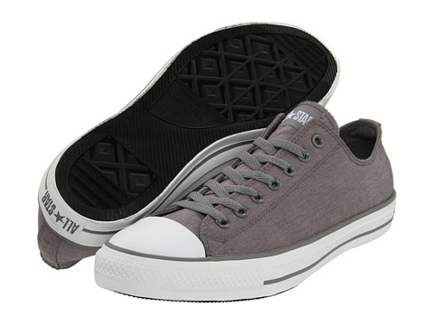 Adidasi Converse - Chuck Taylor® All Star® Ox - Phaeton Grey/White