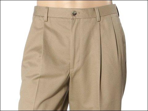 Pantaloni IZOD - Madison Chino Pleated - Sun Khaki
