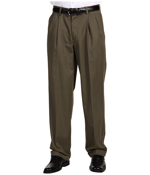 Pantaloni IZOD - Madison Chino Pleated - Tarmac