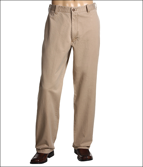Pantaloni IZOD - Saltwater Chino Flat Front Pant - Cedarwood Khaki