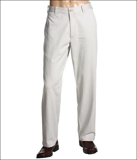 Pantaloni IZOD - Saltwater Chino Flat Front Pant - Stone