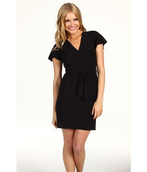 Rochii Christin Michaels - Arian Wrap Dress - Black