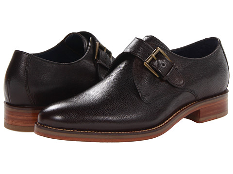 Pantofi Cole Haan - Air Madison Monk - Dark Roast Grain