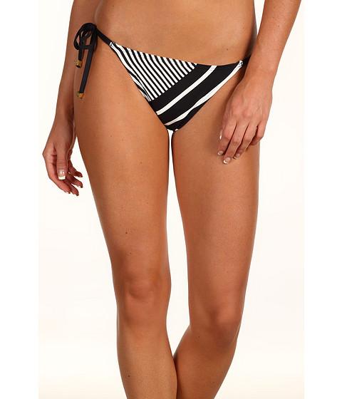Special Vara DKNY - Show Me Stripes String Bottom - Black/Cream