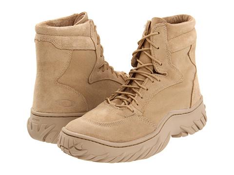 """Ghete Oakley - Assault Boot 6\"""" - Hot Weather - Desert"""