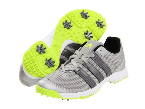 Adidasi adidas Golf - ClimaCool® Sport - Metallic Silver/Dark Silver Metallic/Slime