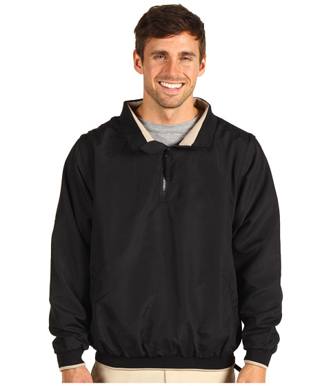 Jachete Fitzwell - Ben 1/4 Zip Wind Jacket - Black