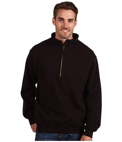 Jachete Fitzwell - Wes 1/2 Zip Pullover Jacket - Black