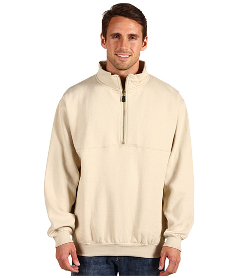 Jachete Fitzwell - Wes 1/2 Zip Pullover Jacket - Latte