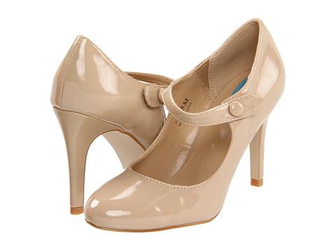 Pantofi Fitzwell - Lorelei Maryjane Pump - Nude Patent