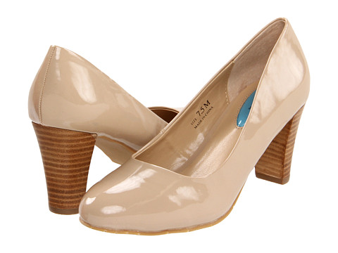 Pantofi Fitzwell - Mary Pump - Nude Patent PU