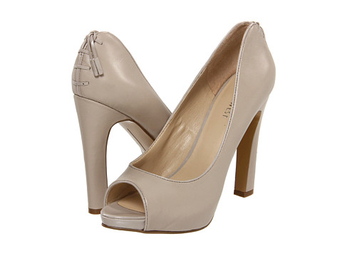 Pantofi Nine West - Heartache - Light Grey/Light Grey Leather
