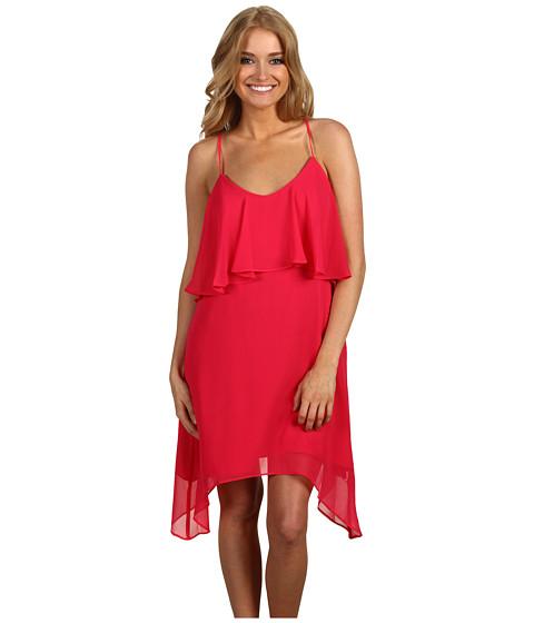Rochii BCBGeneration - Solid Layered Tank Dress - Ultra Pink