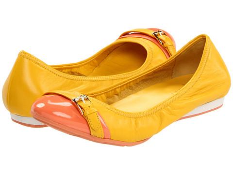 Balerini Cole Haan - Air Reesa Buckle Ballet - Sunflower/Melon Patent