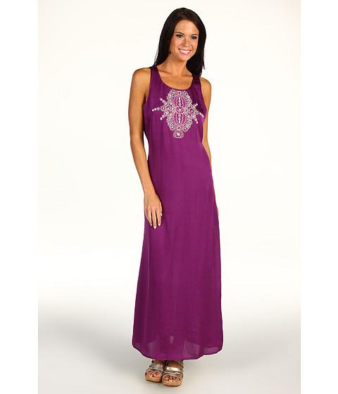Rochii Michael Kors - Racerback Maxi Dress w/Embellishment - Byzantium