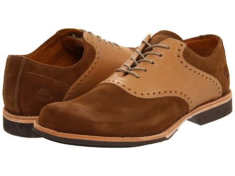 Pantofi Timberland - Earthkeepers® Saddle Oxford - Brown Suede