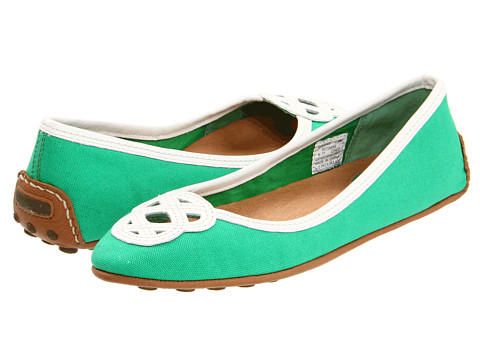 Balerini Sperry Top-Sider - Lakeside - Kelly Green/White Canvas