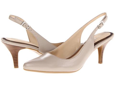 Pantofi Calvin Klein - Abbie - Oatmeal Kid Skin