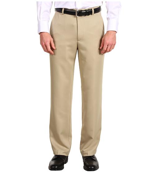 Pantaloni IZOD - XFG Flat Front Microsanded Sportflex Pant - R. Khaki